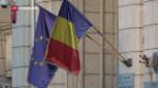 Video «Rumäniens Ratspräsidentschaft zur Unzeit» abspielen