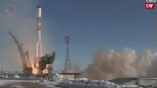 Link öffnet eine Lightbox. Video Russische Cargo-Rakete gestartet abspielen