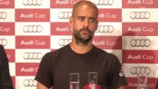 Video «Fussball: Guardiola über seine Zukunft» abspielen