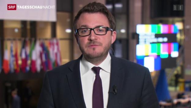 Video «Einschätzung von Sebastian Ramspeck in Brüssel» abspielen