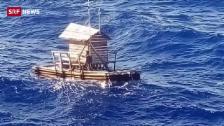 Link öffnet eine Lightbox. Video Floss treibt 2000 Kilometer auf See abspielen