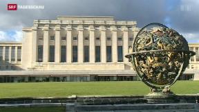 Video «Schweiz als Verhandlungsort beliebt» abspielen