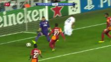 Video «Fussball: Daniel Braatens Hackentrick («sportlive»)» abspielen