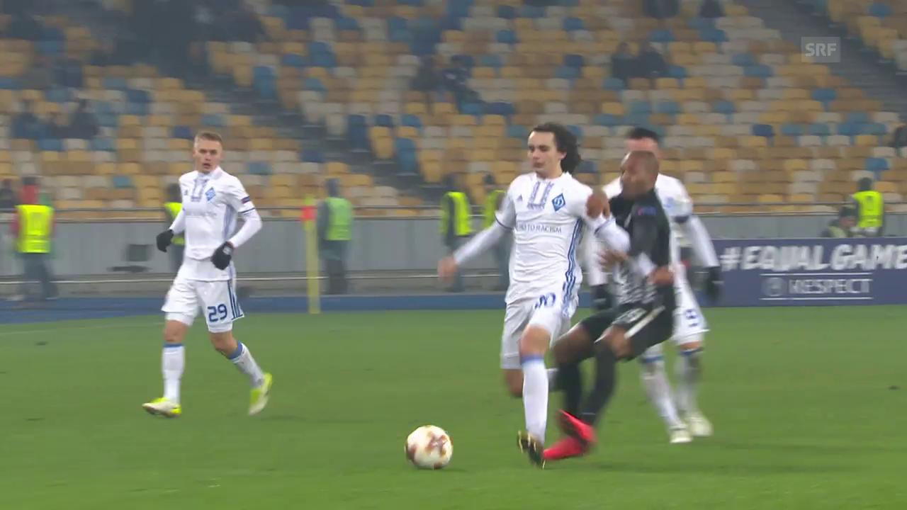 Partizans Everton packt die Blutgrätsche aus