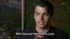 Link öffnet eine Lightbox. Video Fritz: «War gegen Federer schon nahe dran» abspielen