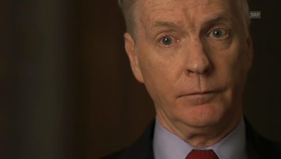 Ryan Crocker, ehem. amerikanischer Botschafter im Irak (Filmausschnitt)