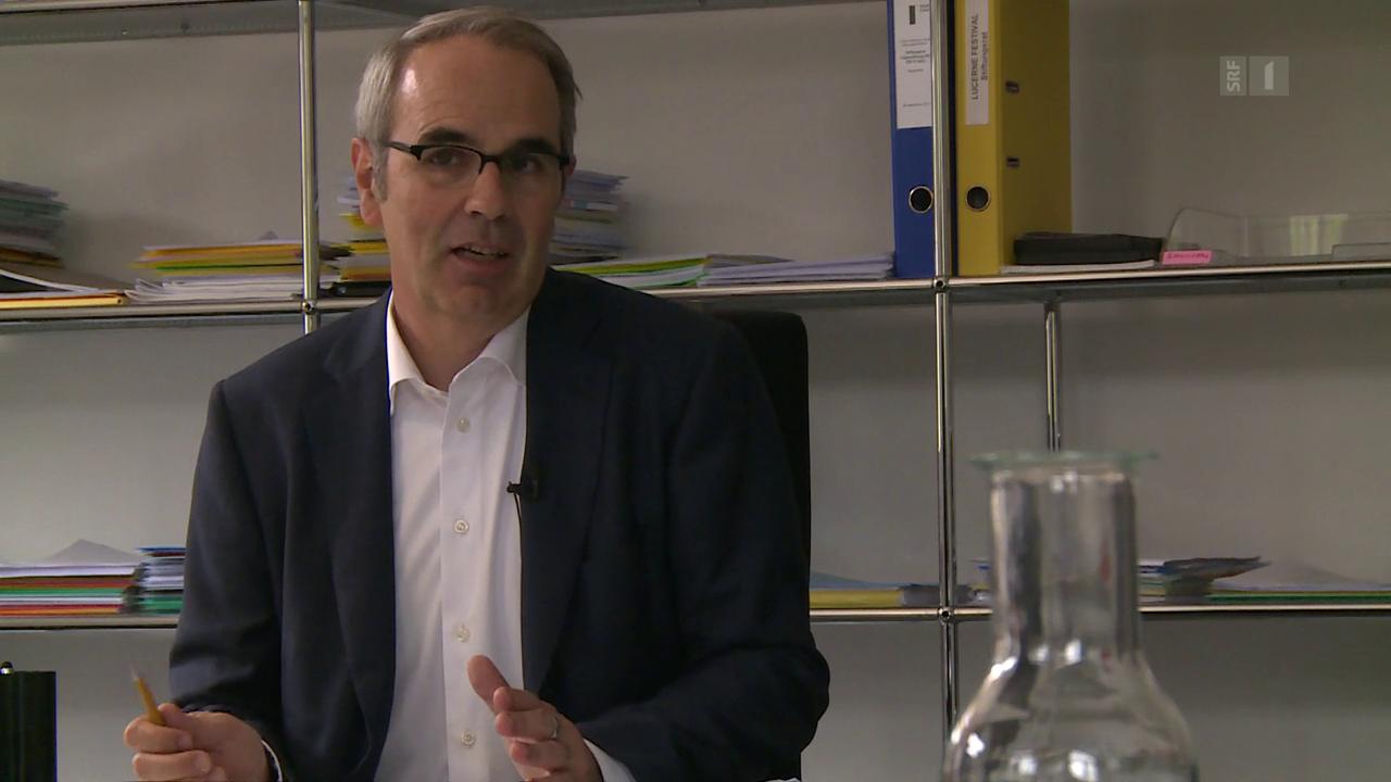 Stadtpräsident Beat Züsli zeigt «sein» Luzern