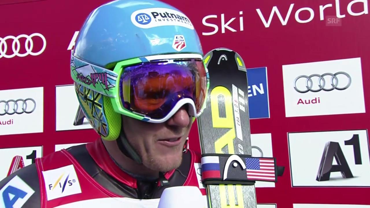 Ski alpin: Interview mit Ted Ligety (englisch)