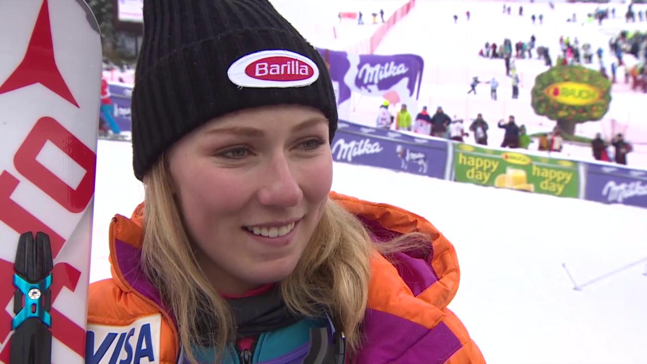 Jasna-Siegerin Mikaela Shiffrin: «Hatte mitten im Winter eine Sommerpause»