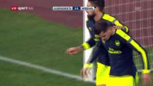 Video «Abgebrüht: Xhakas erster CL-Treffer für Arsenal» abspielen