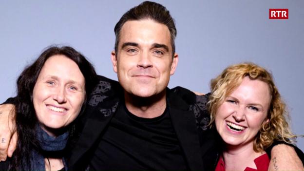 Laschar ir video «Meet me Robbie Williams»