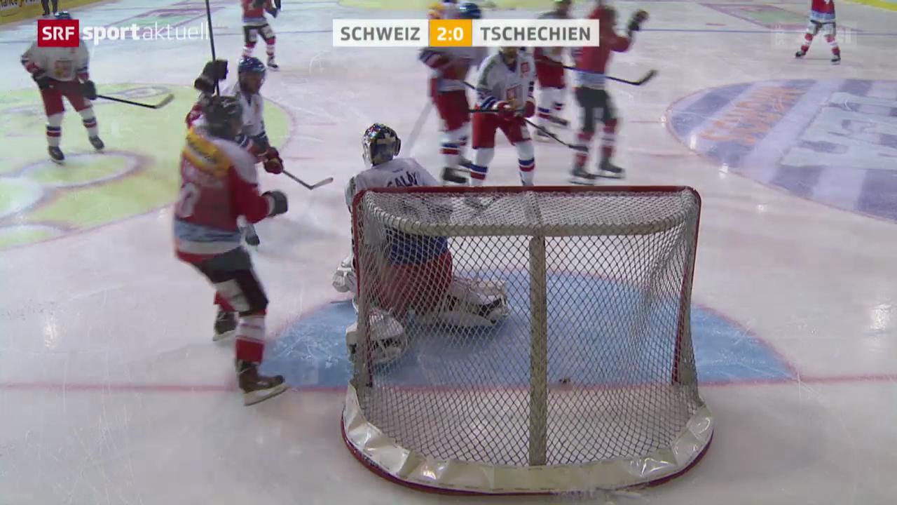 Eishockey: Testspiel Schweiz - Tschechien