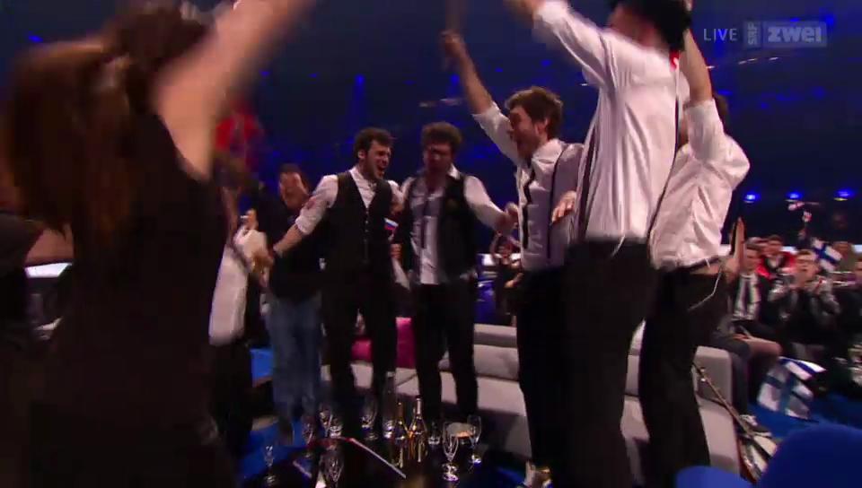 Die Entscheidung: Die Schweiz qualifiziert sich fürs ESC-Finale 2014