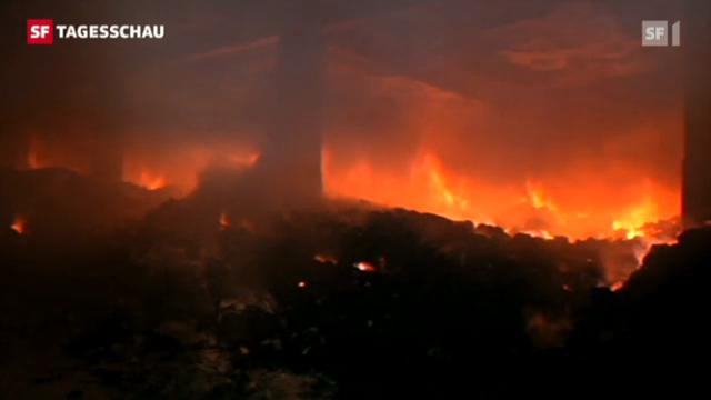 Brandkatastrophe in Bangladesch