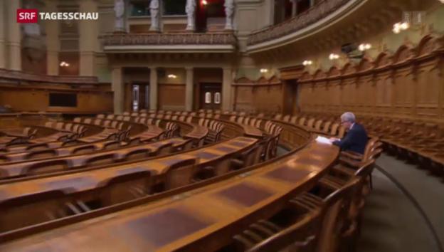 Video «Kurt Fluri – Der Netzwerker im Bundeshaus» abspielen