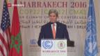 Video «John Kerry an der Klimakonferenz in Marokko» abspielen