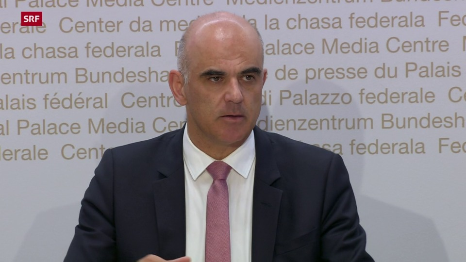 Alain Berset: «La pandemia è stada ina gronda sfida»