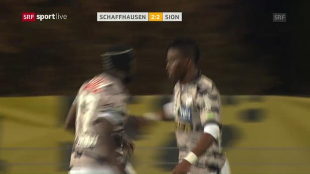 Video «Assifuahs letztes Tor für den FC Sion» abspielen