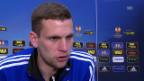 Video «Fussball: Vor Basel-Salzburg: Interview mit Fabian Frei» abspielen