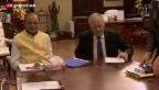 Video «Schneider-Ammann macht Dampf in Indien» abspielen