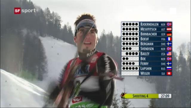 Benjamin Wegers bisherige Podestplätze im Weltcup