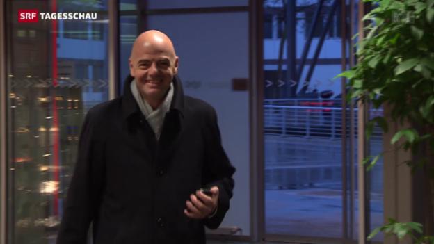 Video «Gianni Infantino Anwärter auf das Fifa-Präsidium» abspielen