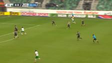 Video «Bunjaku schiesst St. Gallen in Führung» abspielen