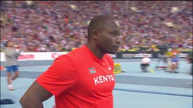 Video «Julius Yego verpasst Bronze im Speerwurf («sportlive»)» abspielen