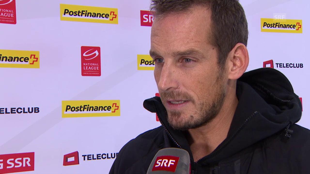 Eishockey: Interview mit Patrick Fischer nach 1:5 in Zug