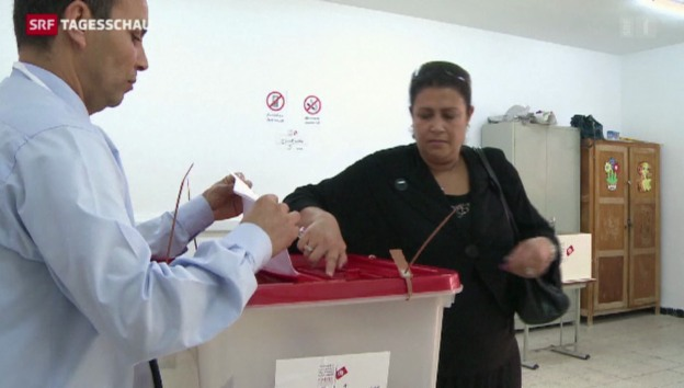 Video «Präsidentschafts-Wahlen in Tunesien» abspielen