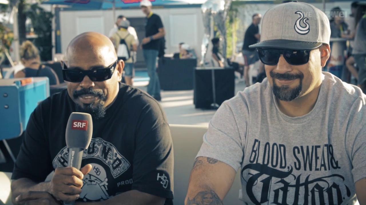 100 Sekunden mit Cypress Hill - Openair Frauenfeld 2015
