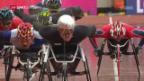 Video «Marcel Hug gewinnt WM-Gold über 5000 m» abspielen