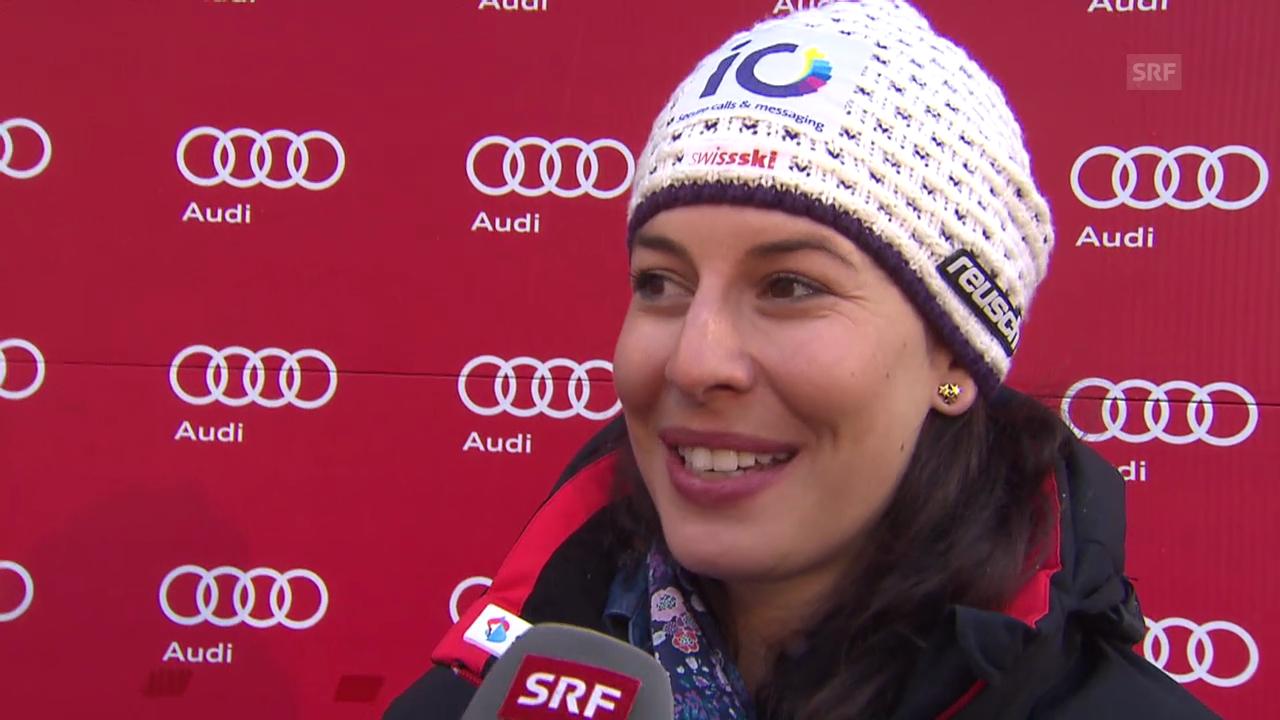 Ski: Saisonstart, Interview Dominique Gisin