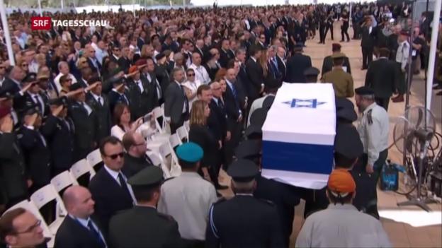 Video «Die letzte grosse Ehre für einen grossen Staatsmann» abspielen