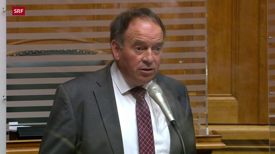 Alois Huber (SVP/AG): «Gentechmoratorium war und ist der richtige Weg»