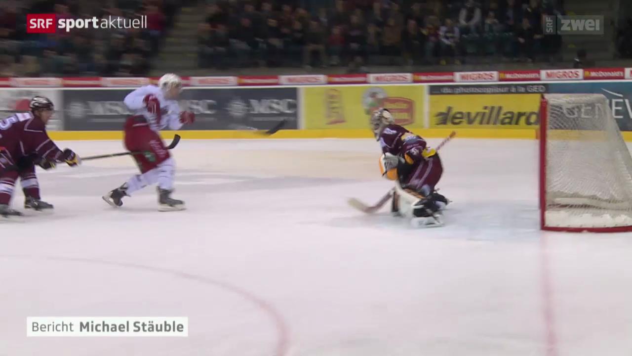 Eishockey: NLA, Genf - Lausanne
