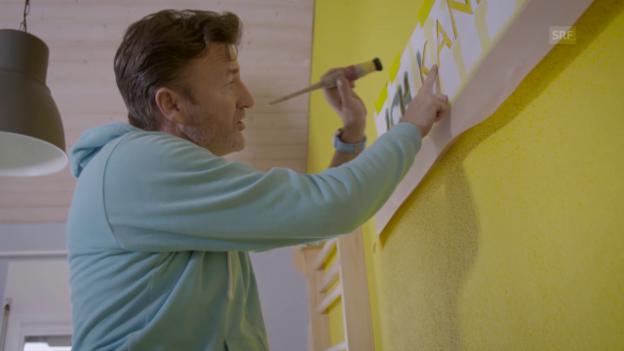 Video «DIY: Ihr persönliches Wandtattoo gestalten» abspielen