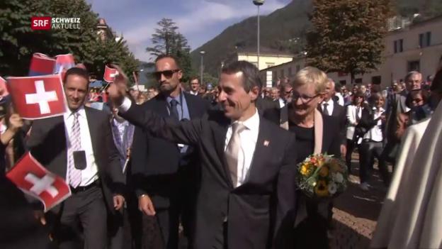 Video «Schweiz aktuell vom 28.09.2017» abspielen