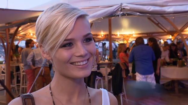 Video «Dominique Rinderknecht über ihr Missen-Dasein» abspielen