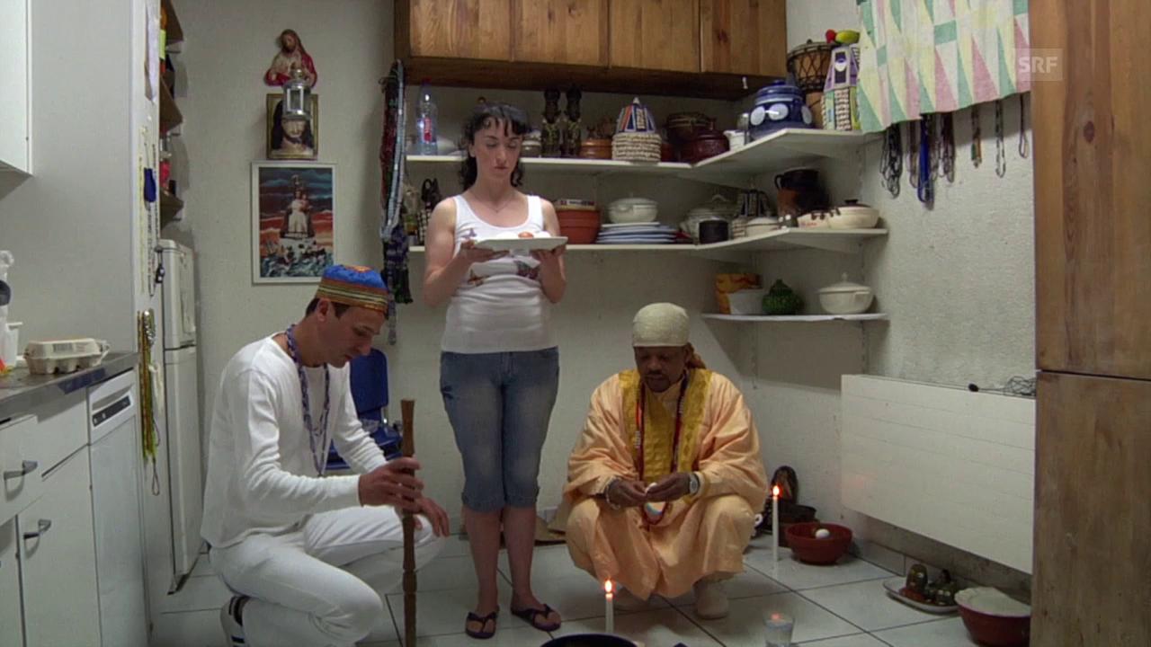Ausschnitt aus dem Film «Santería»