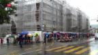 Video «Massenandrang bei Wohnungsbesichtigung» abspielen