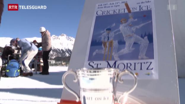 Laschar ir video «Cricket on Ice sin il lai da San Murezzan»