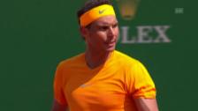 Link öffnet eine Lightbox. Video Nadal lässt auch Dimitrov abblitzen abspielen