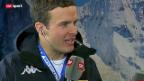 Video «Ski: Gespräch mit Lauberhorn-Sieger Innerhofer» abspielen