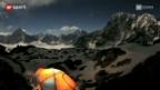 Video «Ueli Stecks Erstbegehung am Shisha Pangma» abspielen