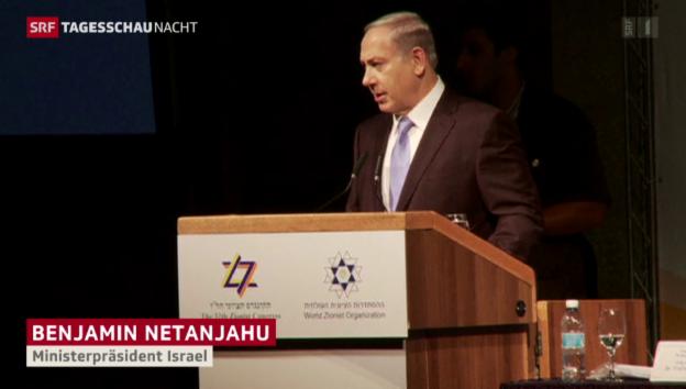 Video «Die verbalen Abgründe des Benjamin Netanjahu» abspielen
