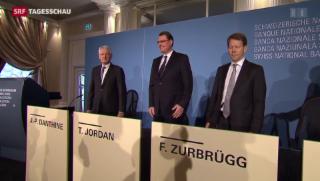 Video «SNB-Präsident Jordan verteidigt Aufhebung des Euro-Mindestkurses » abspielen