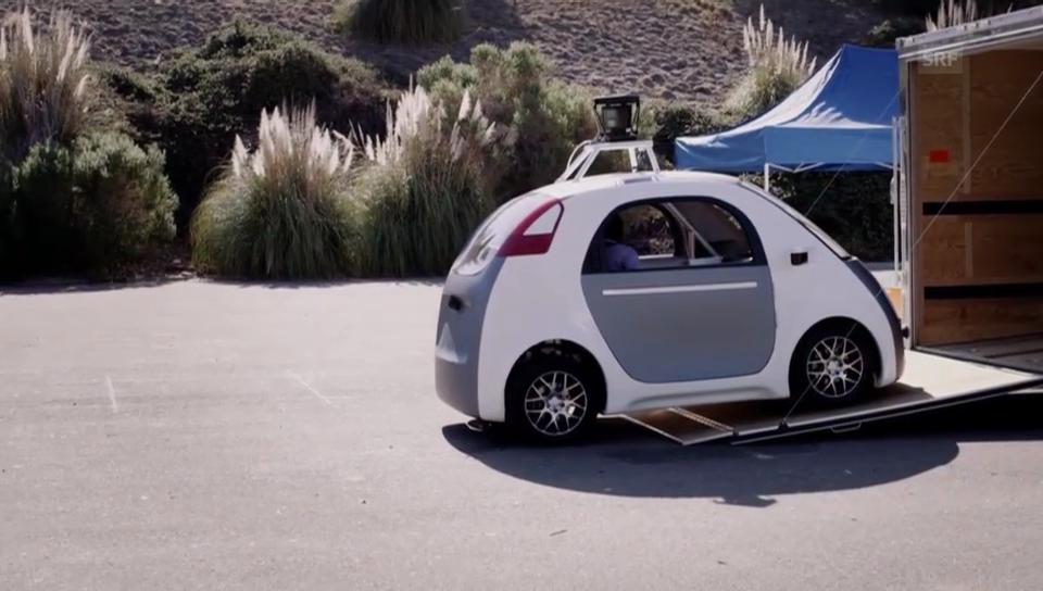 Google-Videoblog zum selbstfahrenden Auto (englisch)