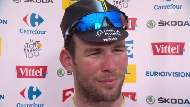 Video «Mark Cavendish im Interview» abspielen