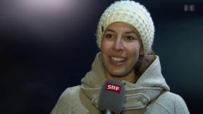 Video «In den Bergen mit Dominique Gisin» abspielen